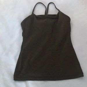 Lulu Lemon racer back top